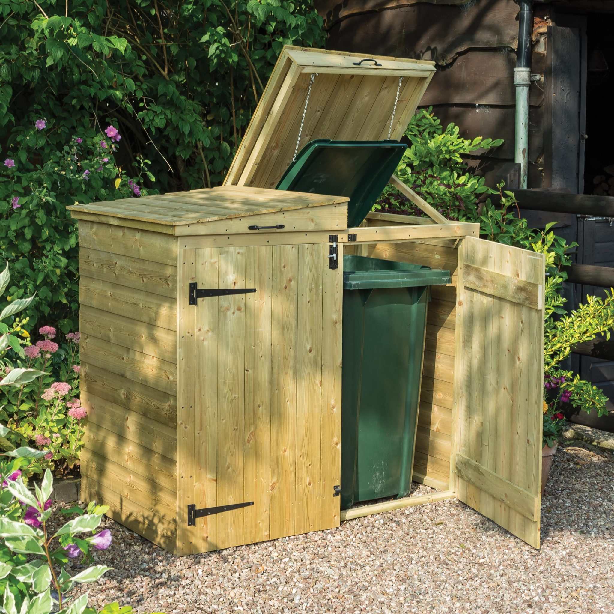 How To Build  Box Recycling Store