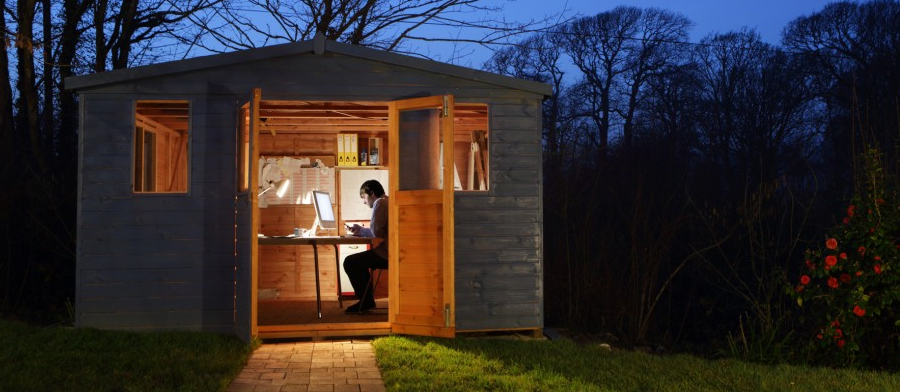 outdoor office