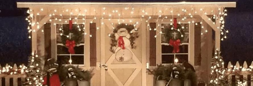 christmas shed